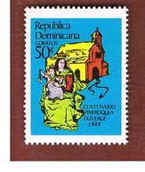 REPUBBLICA DOMENICANA (DOMINICAN REPUBLIC)  - SG 1710  -  1988 OUR LADY OF CARMELITES CHURCH          - USED - Repubblica Domenicana