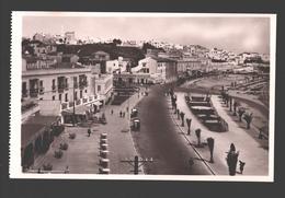 Tanger - Avenue D'Espagne - édit. Lebrun Frères à Tanger - Carte Photo - Tanger