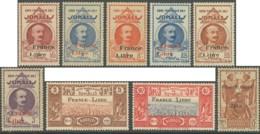 Côte Française Des Somalis 1941-1958 - N° 204 à 233 (sauf 231) (YT) N° 206 à 235 (sauf 233) (AM) Tous Neufs **. 3 Scans. - Côte Française Des Somalis (1894-1967)