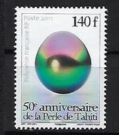 """Polynésie YT 948 """" Perle De Tahiti """" 2011 Neuf** - Nuevos"""