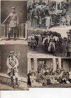 Beau Lot De 20 Cartes Postales Anciennes Militaria WW1 , Fête Victoire , Armée Belge , Divers , Cartes Photos ... - Cartes Postales