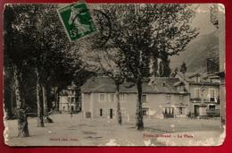 CP Ancienne 01 Virieu Le Grand La Place Phot. Bernard Belley - Signée Prugnat ? - Abimée - Otros Municipios