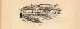 1891 - Gravure Sur Bois - Fos-sur-Mer (Bouches-du-Rhône) - Vue Générale - FRANCO DE PORT - Estampes & Gravures