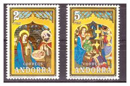 ANDORRA SP. -  1973 - NATALE. SERIE COMPLETA.  - MNH** - Spanish Andorra