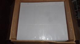 LOT  N° 261  / LOT 136 FEUILLES PLASTIQUE POUR CPM / CPSM   CPM 10 X 15 - Supplies And Equipment