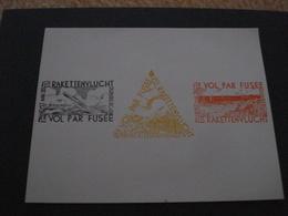 Belgique, Erinnophilie, E7/9, Feuillet Non Dentelé MNH Cote 560€ - Commemorative Labels