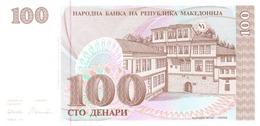 Macedonia P.12  100 Dinars 1993 Unc - Macedonia