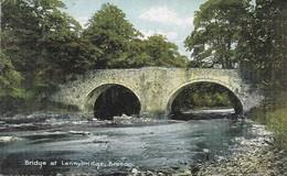 Bridge At Lennybridge, Brecon Shurey's Unposted 0070 - Breconshire