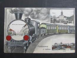 AK LUBLIN Collage M. Zug  1914 //  D*34035 - Polen