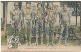 COCHINCHINE -  Groupe De Moïs , Hommes Nus, Nude - Vietnam