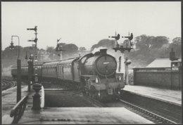 British Railways Engine No 61049 At Malton, Yorkshire - Joanes Postcard - Trains