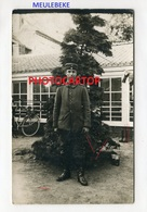 MEULEBEKE-CARTE PHOTO Allemande-Guerre 14-18-1WK-BELGIEN-Flandern- - Meulebeke