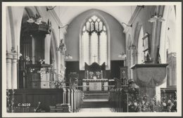 Interior, St Peter's Church, Dyrham, Gloucestershire, 1967 - RP Postcard - Other