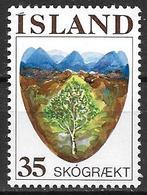 Islande 1975 N° 465 Neuf ** MNH Reboisement - Ungebraucht