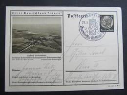 GANZSACHE Lernt Deutschland Kennen Ückermünde Berlin - Wien 1937  /// D*34047 - Deutschland
