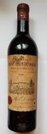 BOUTEILLE DE VIN - ST EMILION - CHATEAU GRAND CORBIN DESPAGNE - PAUL DESPAGNE - 1947 - HAUTEUR HAUT DU COL - Vino