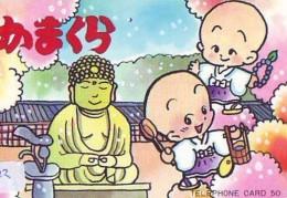 Telecarte Buddha Bouddha Boedha Phonecard (322) - Télécartes