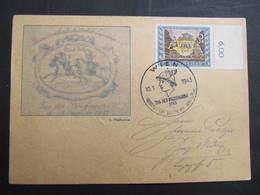KARTE Wien Tag Der Briefmarke 1943 /// D*34051 - Briefe U. Dokumente
