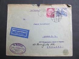 BRIEF Berlin - London 1936 Luftpost  // D*34054 - Deutschland