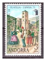 "ANDORRA SP. -  1975 - ESPOSIZIONE FILATELICA ""ESPAÑA 75"".  - MNH** - Neufs"