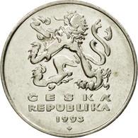 Monnaie, République Tchèque, 5 Korun, 1993, TTB, Nickel Plated Steel, KM:8 - Tchéquie
