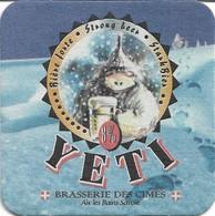 SOUS-BOCKS - YETI (Bière De France) Brasserie Des Cimes, Aix Les Bains (Savoie), Neuf. - Sous-bocks