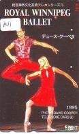 Télécarte BALLET (141) Ballette Dance Dancing Tanzen Danser Ballare Bailar Dançar Phonecard - Télécartes