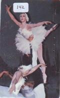 Télécarte BALLET (142) Ballette Dance Dancing Tanzen Danser Ballare Bailar Dançar Phonecard - Télécartes