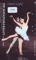 Télécarte BALLET (143) Ballette Dance Dancing Tanzen Danser Ballare Bailar Dançar Phonecard - Télécartes