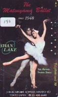 Télécarte BALLET (150) Ballette Dance Dancing Tanzen Danser Ballare Bailar Dançar Phonecard - Télécartes