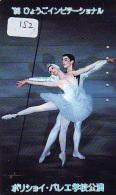 Télécarte BALLET (152) Ballette Dance Dancing Tanzen Danser Ballare Bailar Dançar Phonecard - Télécartes