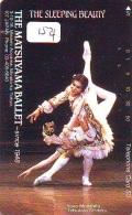 Télécarte BALLET (154) Ballette Dance Dancing Tanzen Danser Ballare Bailar Dançar Phonecard - Télécartes
