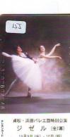 Télécarte BALLET (155) Ballette Dance Dancing Tanzen Danser Ballare Bailar Dançar Phonecard - Télécartes