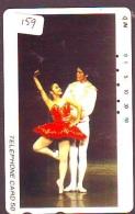 Télécarte BALLET (159) Ballette Dance Dancing Tanzen Danser Ballare Bailar Dançar Phonecard - Télécartes