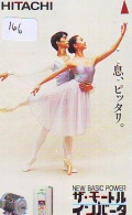 Télécarte BALLET (166) Ballette Dance Dancing Tanzen Danser Ballare Bailar Dançar Phonecard - Télécartes