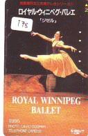 Télécarte BALLET (178) Ballette Dance Dancing Tanzen Danser Ballare Bailar Dançar Phonecard - Télécartes