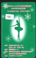 Télécarte BALLET (180) Ballette Dance Dancing Tanzen Danser Ballare Bailar Dançar Phonecard - Télécartes