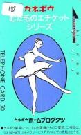 Télécarte BALLET (181) Ballette Dance Dancing Tanzen Danser Ballare Bailar Dançar Phonecard - Télécartes