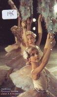 Télécarte BALLET (195) Ballette Dance Dancing Tanzen Danser Ballare Bailar Dançar Phonecard - Télécartes