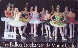 Télécarte BALLET (197) Ballette Dance Dancing Tanzen Danser Ballare Bailar Dançar Phonecard - Télécartes