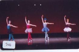 Télécarte BALLET (200) Ballette Dance Dancing Tanzen Danser Ballare Bailar Dançar Phonecard - Télécartes