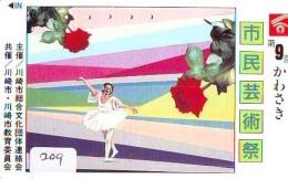 Télécarte BALLET (209) Ballette Dance Dancing Tanzen Danser Ballare Bailar Dançar Phonecard - Télécartes