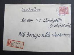 BRIEF Berlin - Borgiswalde 1955   /// D*34061 - Briefe U. Dokumente