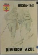 JK747 SPAIN ESPAÑA POSTER 42x29 Cm. WWII. DIVISION AZUL RUSSIA. SOLDADOS, 1942 SKI SOLDIER. - 1939-45