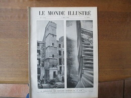 LE MONDE ILLUSTRE N°2658 DU 7 MARS 1908 DEMOLITION TOUR 18 RUE DE LA CHANOINESSE,RENFORT AU MAROC,SYNDICAT CENTRAL DES A - Books, Magazines, Comics