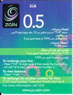 JORDAN - Zain Mini Promotion Prepaid Card(left), Exp.date 28/02/19, Used - Jordan