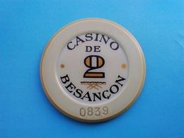 Jeton Casino De Besançon   2 F - Casino