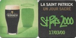 2 SOUS-BOCKS - GUINNESS (Bière D'Irlande) Saint Patrick 17/03/2000, Neufs. - Portavasos
