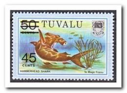Tuvalu 1981, Postfris MNH, Fish, Sealife - Tuvalu