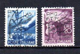 ITALIA TRIESTE 1950 CANCELLED - 7. Triest